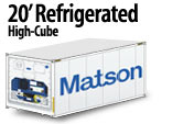 20' Refrigerated High Cube